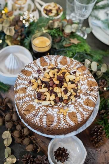 Kaffee Weihnachtsfrüchtekuchen_6183
