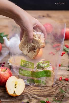 Germteigschnecken mit Apfel Zimt Fülle_4113
