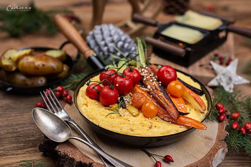 Raclette mit Polenta_0881