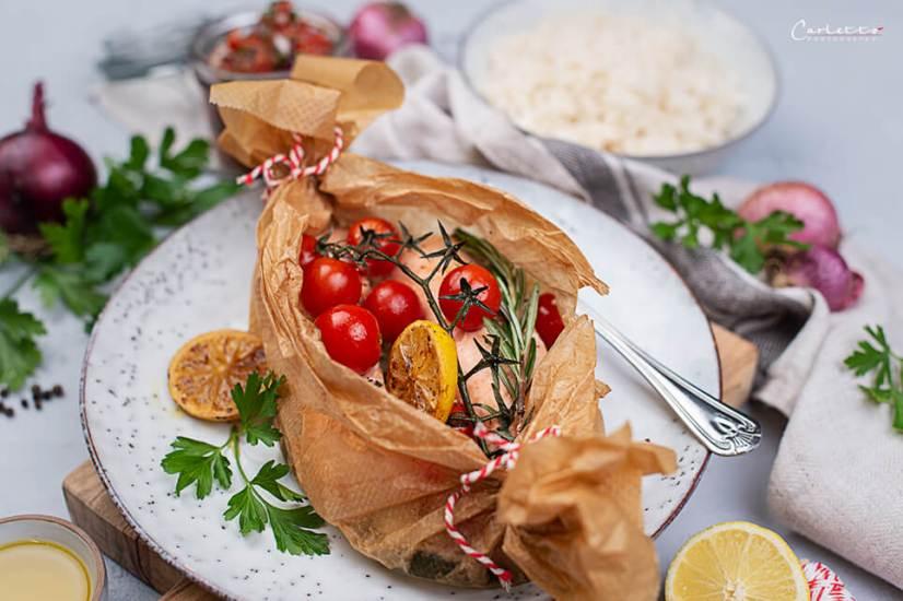 Lachs Gemüse Päckchen_9205