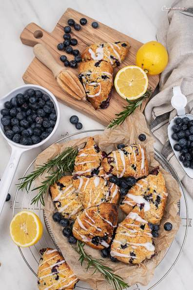 Heidelbeer Zitronen Scones_4233