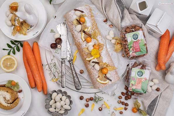 Karotten Kuchen Roulade_4792
