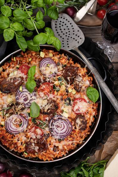 Pizza Nudel Auflauf_3577