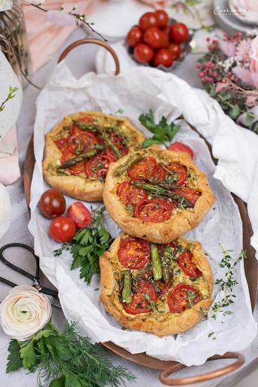 Tomaten Spargel Galette_5513