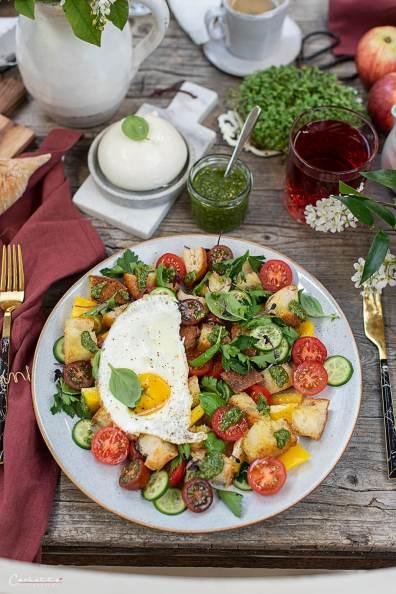 Frühstücks Panzanella_7514