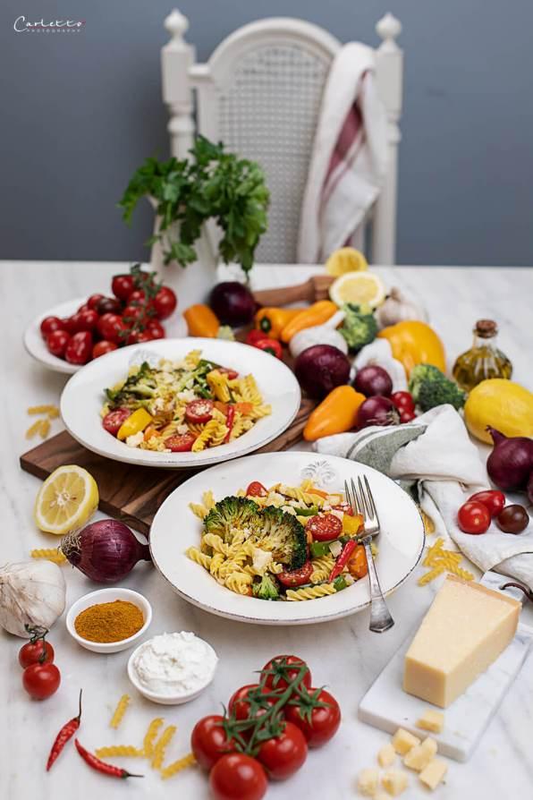 Nudel mit Curry Gemüse_0563