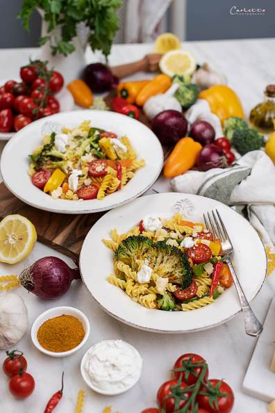 Nudel mit Curry Gemüse_0599