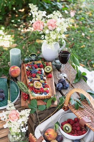 Picknick Früchte Tarte_7365