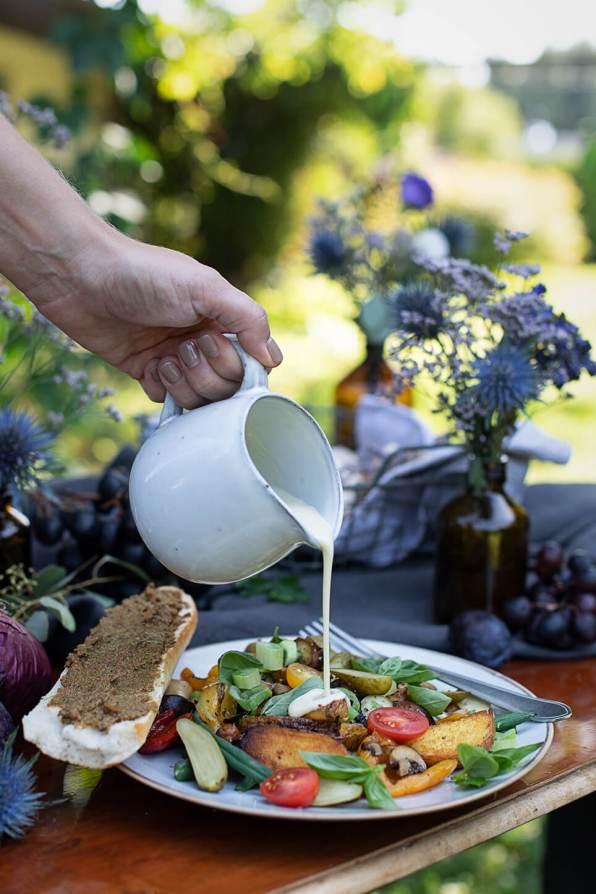 Essiggurken Gemüse Salat_0828