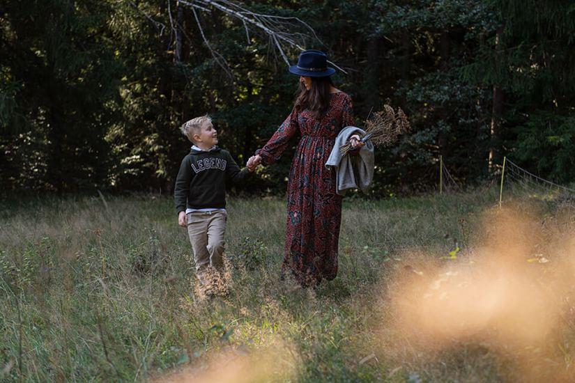 Herbstpicknick im Wald_4608