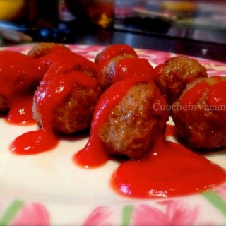 cookery course and recipe about meatballs in tuscany
