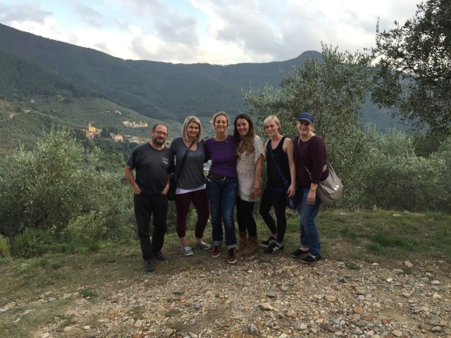 wild herbs cooking class: the group