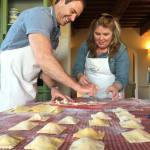 tortelli cookingclasses in tuscany