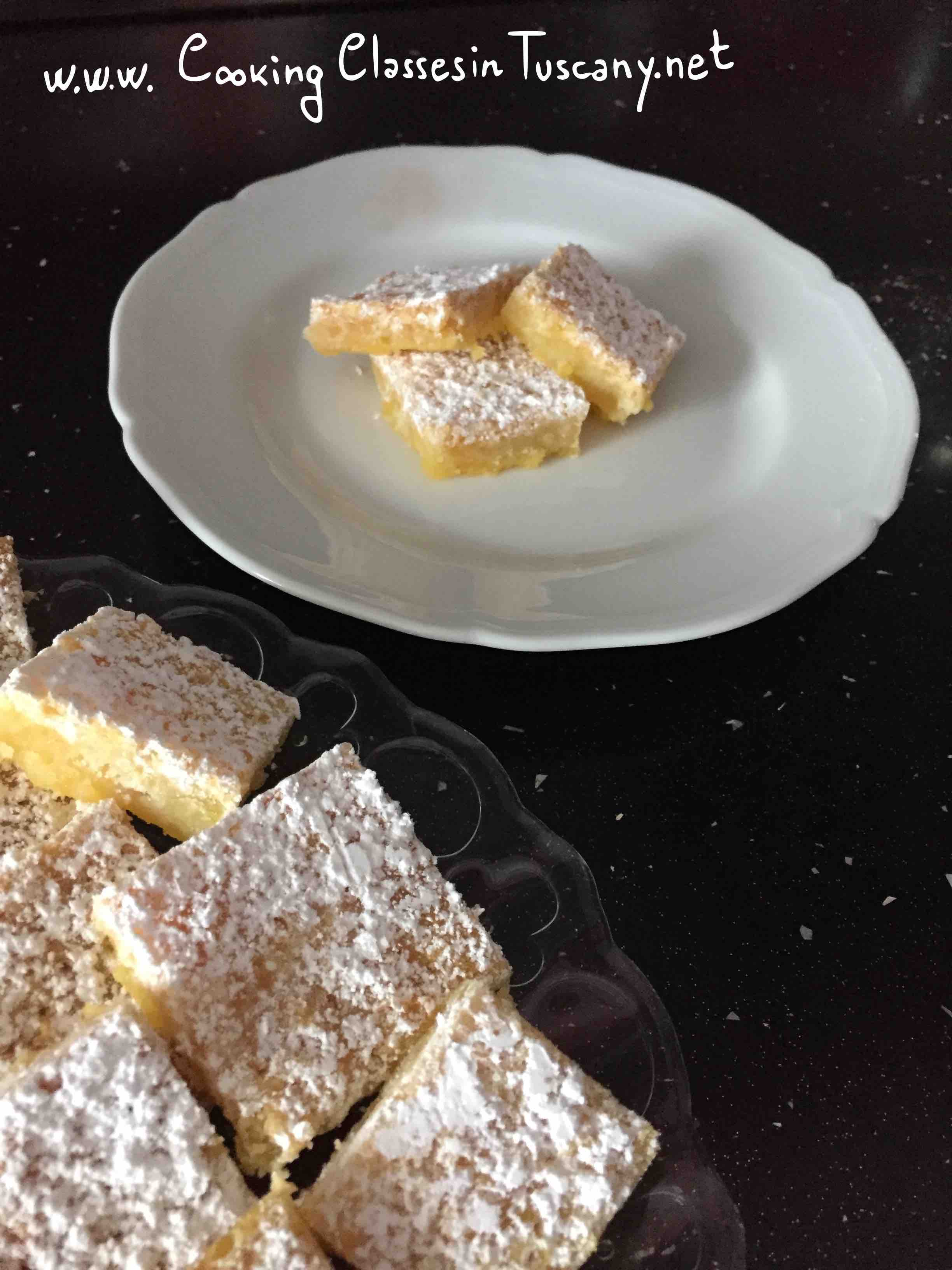 the best lemon bars from tuscany recipe