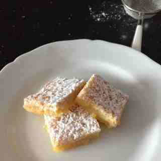 the best lemon bars recipe from tuscany