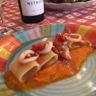 paccheri cooking class recipe