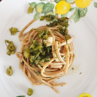 chef in tuscany: spaghetti with wild fennel