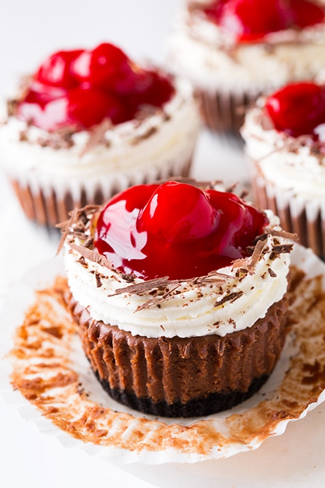 Black Forest Cheesecake Cupcakes Cooking Classy
