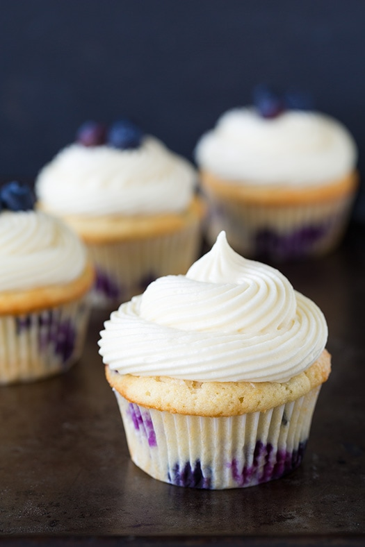 Recipe Cupcake Sour Cream