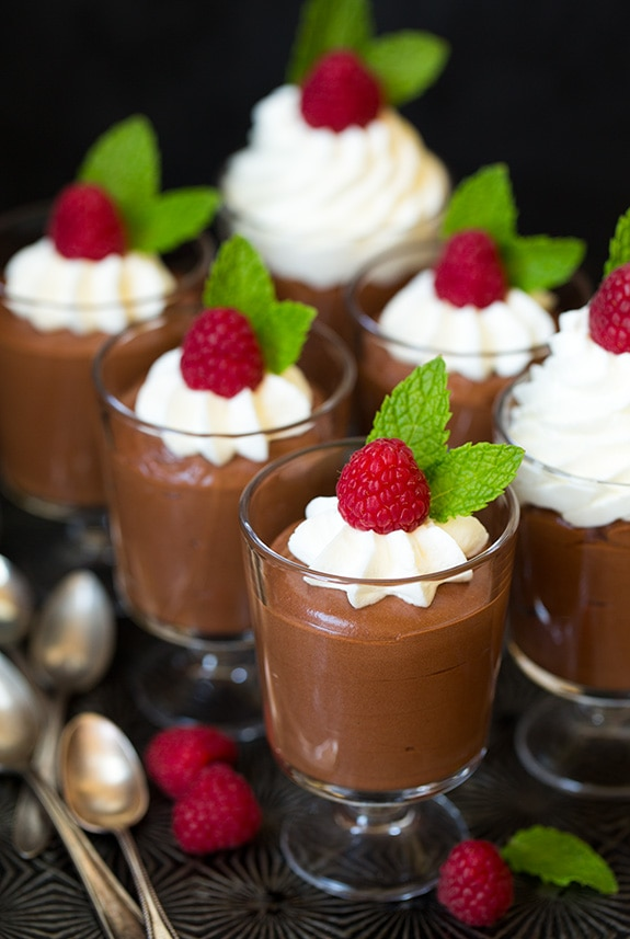 Quick Chocolate Mousse Dessert Recipes