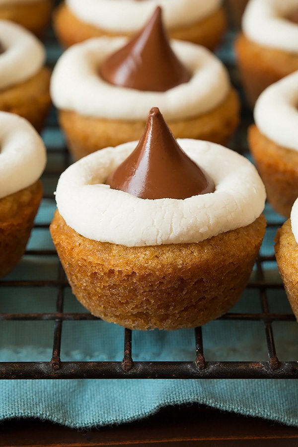 Mini S Mores Cookie Cups Cooking Classy