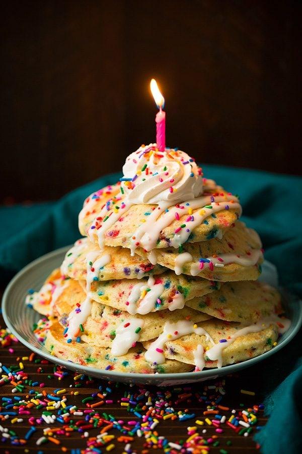 Funfetti Pancakes Cooking Classy