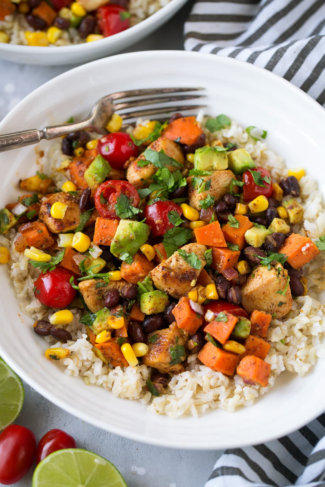 Mexican Honey Lime Chicken And Veggie Skillet Recipe