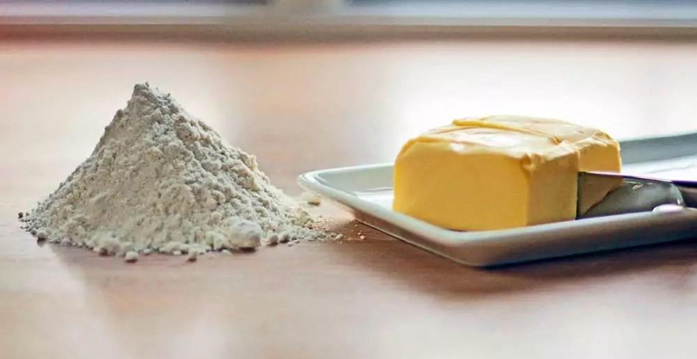 amerikanske mål vægt smør mel