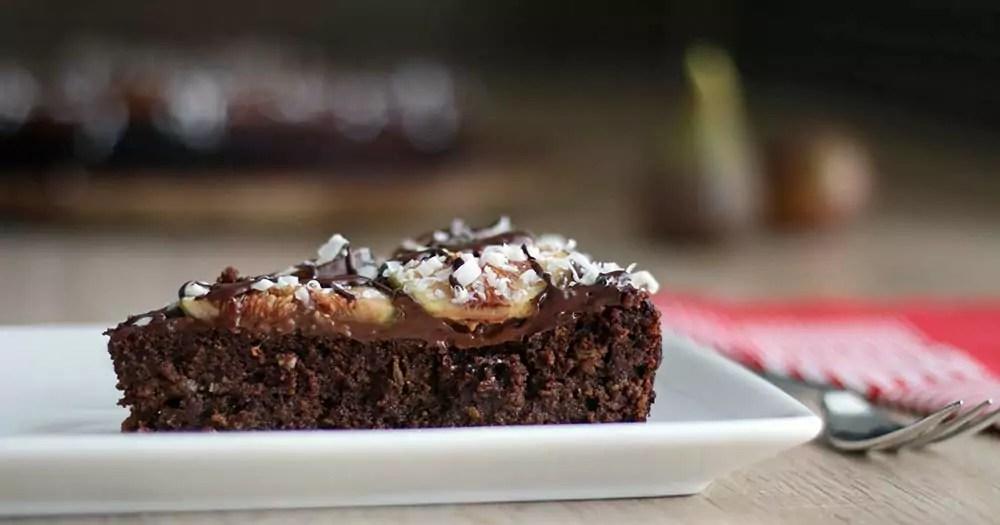 Glutenfri brownie chokoladekage figner opskrift