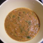 Roasted Lima Bean and Tomato Soup - CookingCoOp.com