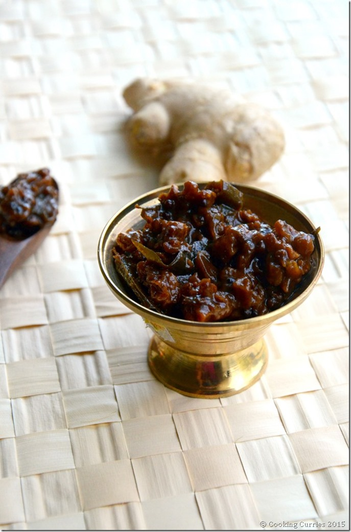 Inji Puli- Puli Inji - Inji Curry - Mirch Masala - Kerala Sadya Recipes Onam Vishu (3)