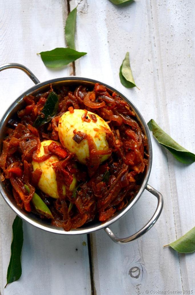 Kerala Style Egg Roast ~ Mutta Roast (2)