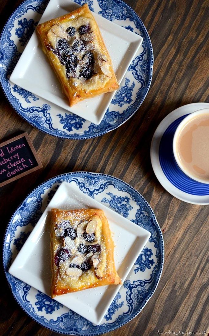 Almond Lemon Blueberry Cream Cheese Danish - Mirch Masala (4)