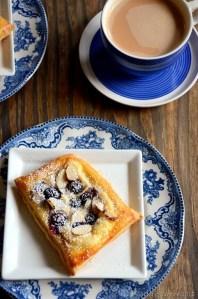 Almond Blueberry Cream Cheese Danish