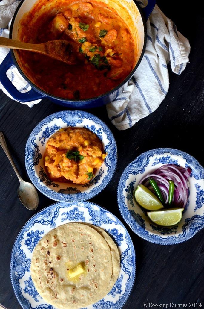 Makai Chicken Curry - Corn Chicken Curry - Mirch Masala (3)