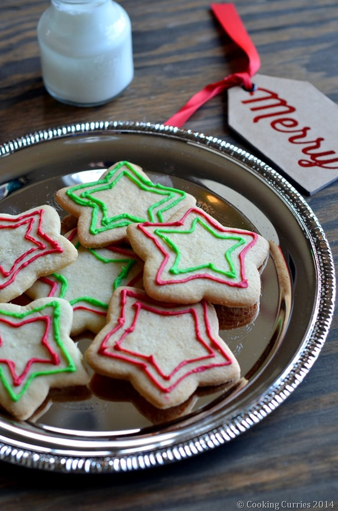 The Best Ever Sugar COokies - Mirch Masala (2)