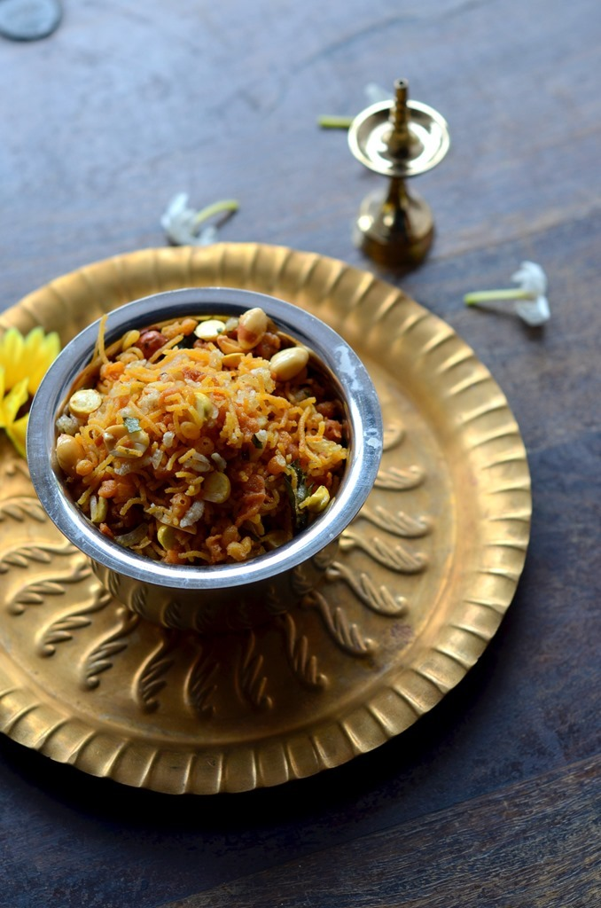 Spicy Mixture - Indian Trail Mix - Diwali Recipe - COoking Curries (2)
