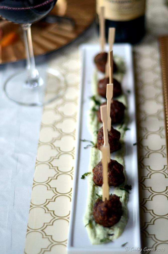 Lamb Kebabs with Cilantro Mint Cauliflower Puree www.cookingcurries.com (5)