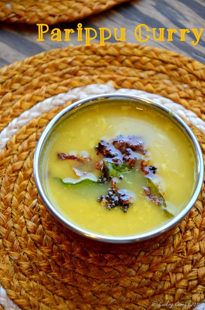 Parippu Curry Kerala Style Sadya (3)