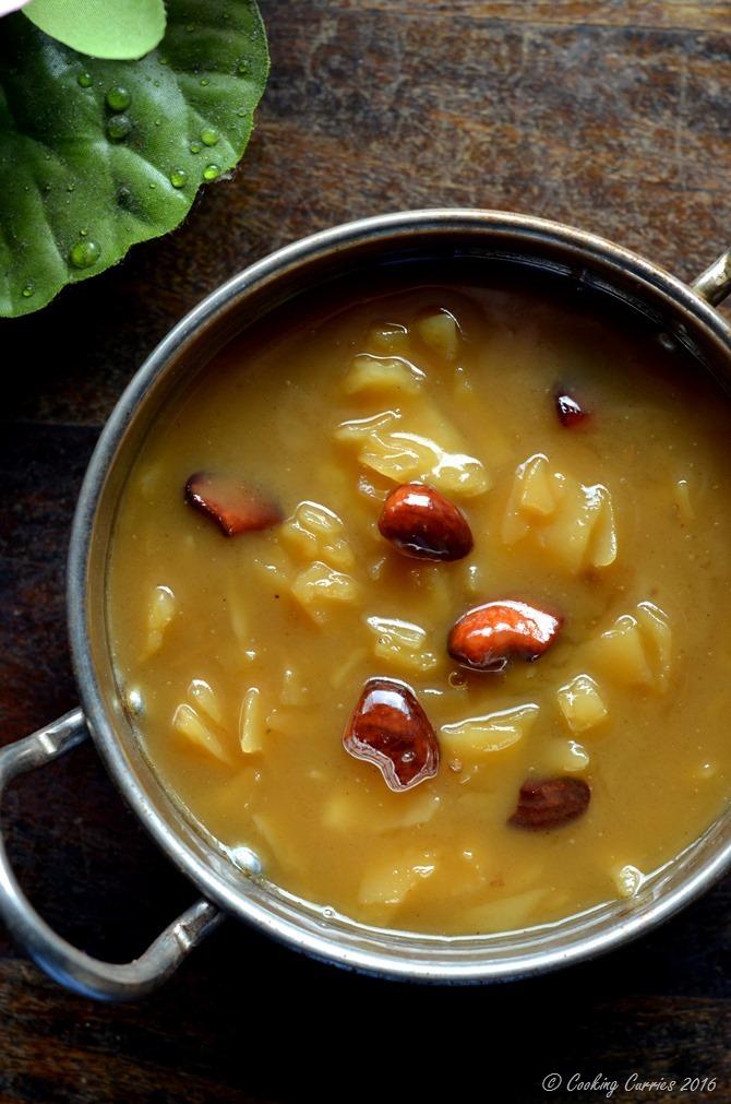 Ada Pradhaman - A Kerala Sadya Recipe - Vegetarian, Vegan, Gluten Free - www.cookingcurries.com (4)