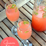 Guava Mint Mimosa - Perfect brunch accompaniment