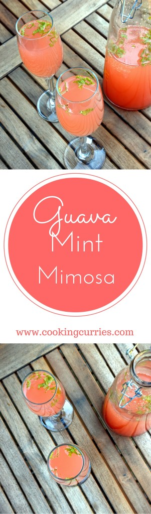 Guava Mint Mimosa - The Perfect Brunch Accompaniment
