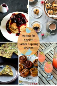 Recipes for a Perfect Easter Spring Brunch