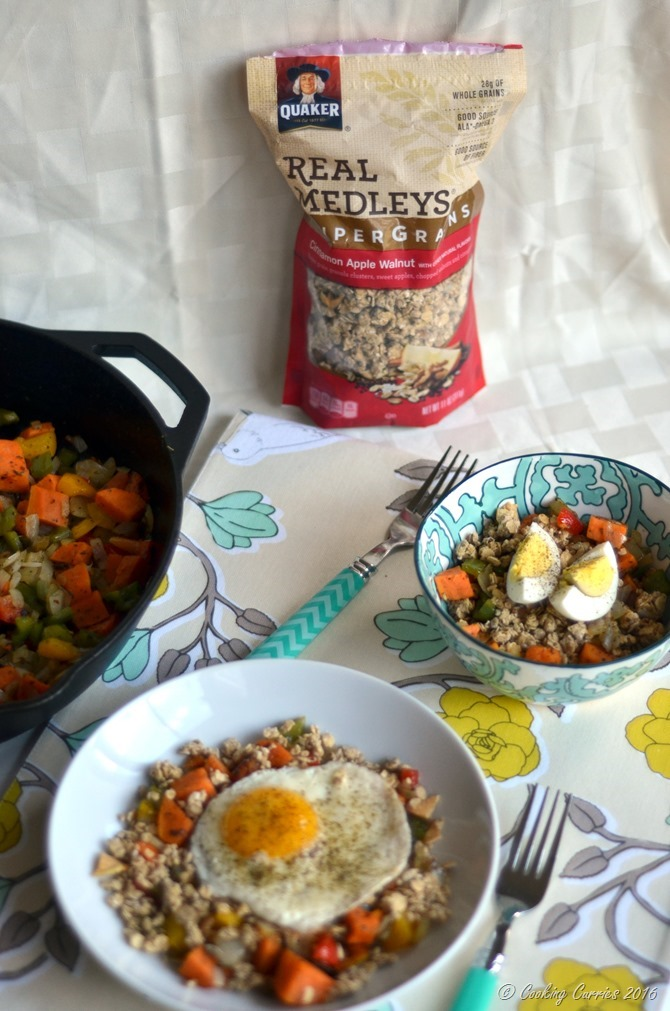 Sweet Potato Breakfast Hash with Granola - www.cookingcurries.com (2)