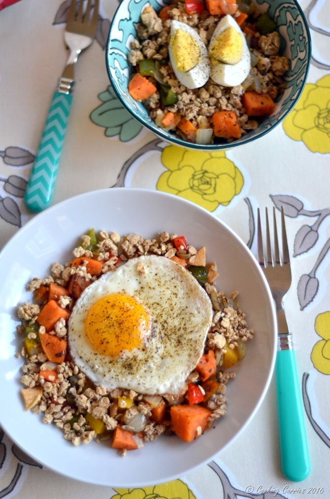 Sweet Potato Breakfast Hash with Granola - www.cookingcurries.com (4)