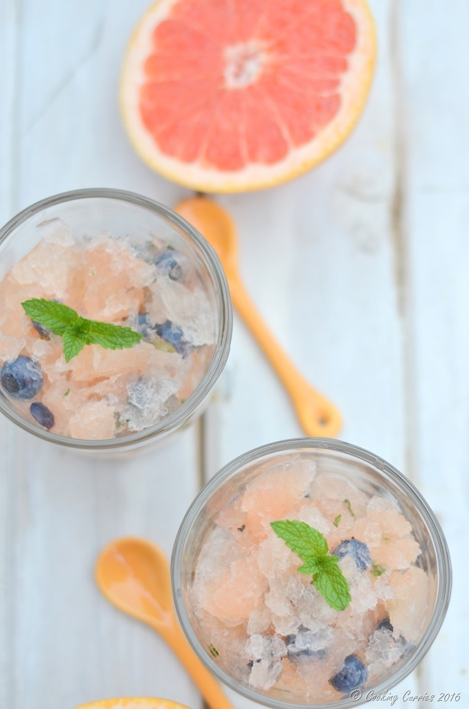 Blueberry Grapefruit Mojito Slushies - Summer Treat - FoodieMamas - www.cookingcurries.com (3)