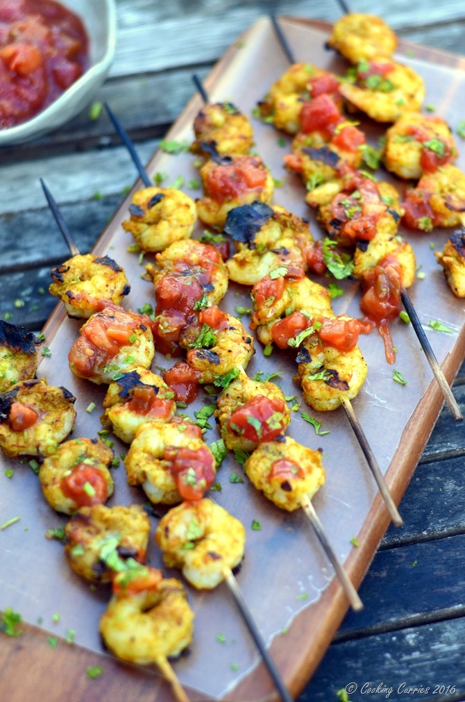 Ginger Tamarind Shrimp with Pineapple Salsa - www.cookingcurries.com (5)
