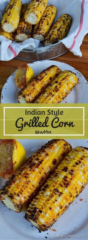 Indian Style Grilled Corn - Bhutta