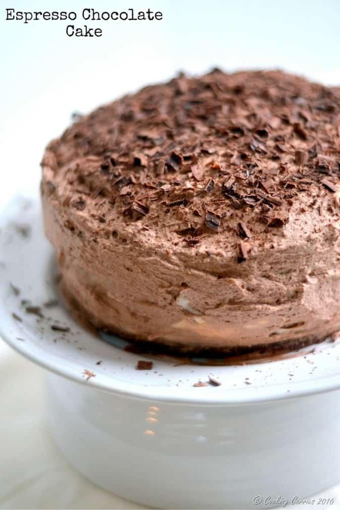 Espresso Chocolate Cake - www.cookingcurries.com