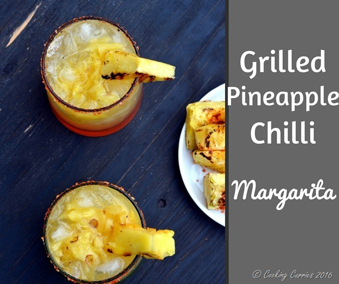Grilled Pineapple Chilli Margarita - A summer cocktail! (3)